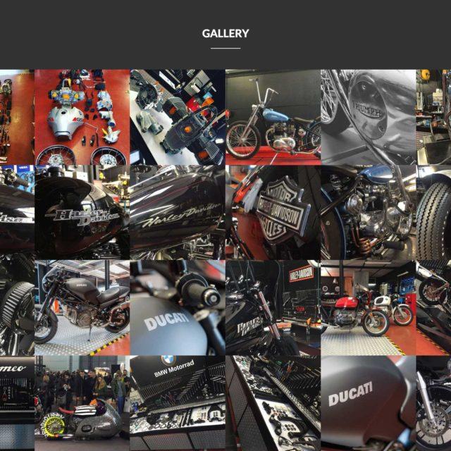 Francescomoto website gallery